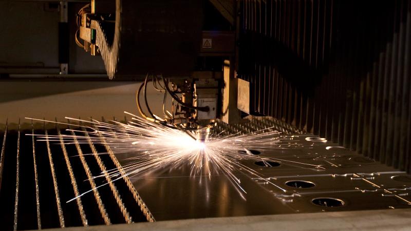 CNC sheet metal laser cutting
