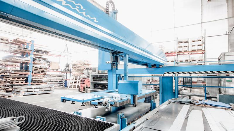 CNC sheet metal punching
