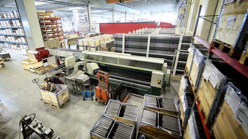 CNC tube and bar sawing