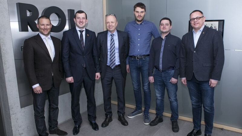 It was our pleasure to welcome Minister of Economy Virginijus Sinkevičius